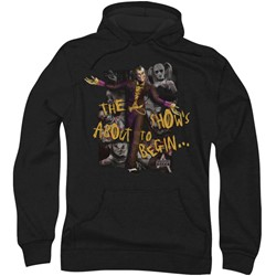 Batman: Arkham City - Mens About To Begin Hoodie