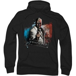 Batman: Arkham City - Mens Two Face Hoodie