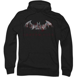Batman: Arkham City - Mens Bat Fill Hoodie