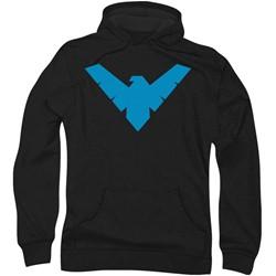 Batman - Mens Nightwing Symbol Hoodie