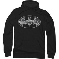 Batman - Mens Urban Camo Shield Hoodie