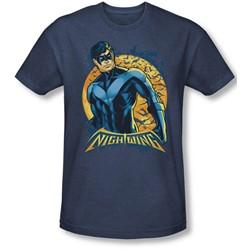 Batman - Mens Nightwing Moon T-Shirt