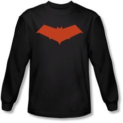Batman - Mens Red Hood Longsleeve T-Shirt