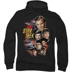 Star Trek: The Original Series - Mens The Classic Crew Hoodie