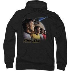 Star Trek: The Original Series - Mens Forward To Adventure Hoodie