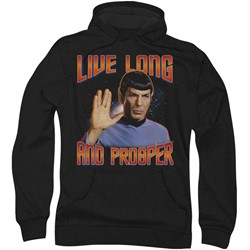 Star Trek: The Original Series - Mens Live Long And Prosper Hoodie