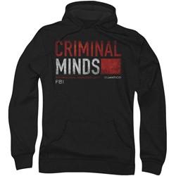 Criminal Minds - Mens Title Card Hoodie