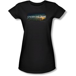 Under The Dome - Juniors Dome Key Art Sheer T-Shirt