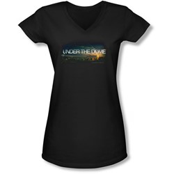 Under The Dome - Juniors Dome Key Art V-Neck T-Shirt