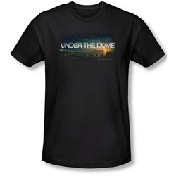 Under The Dome - Mens Dome Key Art Slim Fit T-Shirt
