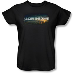 Under The Dome - Womens Dome Key Art T-Shirt