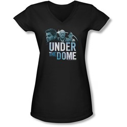 Under The Dome - Juniors Character Art V-Neck T-Shirt