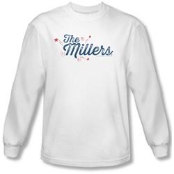 Millers - Mens Logo Longsleeve T-Shirt