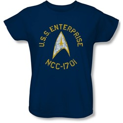 Star Trek - Womens Collegiate T-Shirt