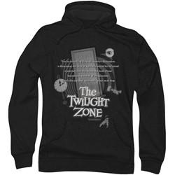 Twilight Zone - Mens Monologue Hoodie
