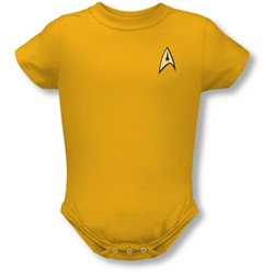 Star Trek - St / Command Uniform Infant T-Shirt In Gold