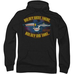 Quogs - Mens Bold Hoodie