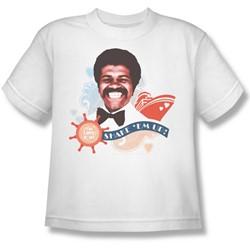 Cbs - Love Boat / Shake 'Em Up Big Boys T-Shirt In White