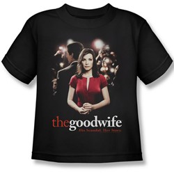 The Good Wife - Bad Press Juvee T-Shirt In Black
