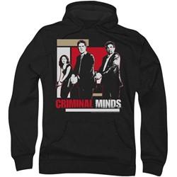 Criminal Minds - Mens Guns Drawn Hoodie
