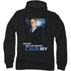 Csi:Ny - Mens Justice Served Hoodie