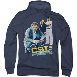 Csi:Miami - Mens In Perspective Hoodie
