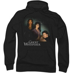 Ghost Whisperer - Mens Diagonal Cast Hoodie