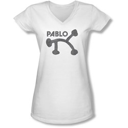 Concord Music - Juniors Retro Pablo V-Neck T-Shirt