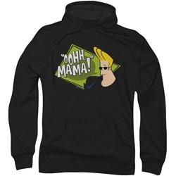 Johnny Bravo - Mens Oohh Mama Hoodie
