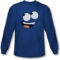 Foster's - Mens Blue Face Longsleeve T-Shirt