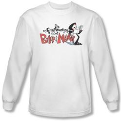 Billy & Mandy - Mens Logo Longsleeve T-Shirt