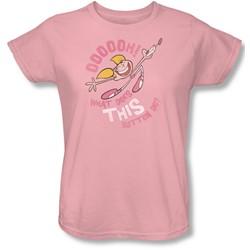 Dexter's Laboratory - Womens Button T-Shirt