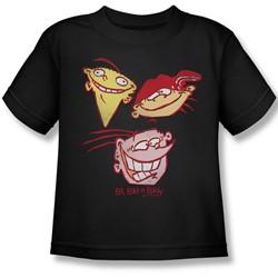 Ed Edd Eddy - Little Boys Three Heads T-Shirt