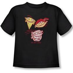 Ed Edd Eddy - Toddler Three Heads T-Shirt