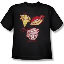 Ed Edd Eddy - Big Boys Three Heads T-Shirt