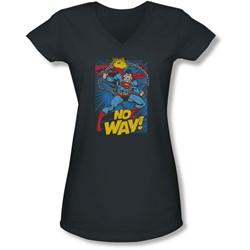 Dc - Juniors No Way V-Neck T-Shirt