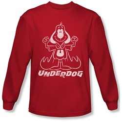 Underdog - Mens Outline Under Longsleeve T-Shirt