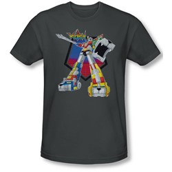 Voltron - Mens Blazing Sword Slim Fit T-Shirt