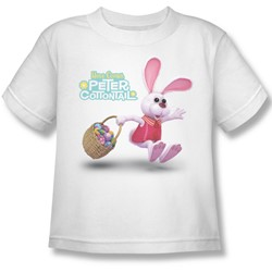 Here Comes Peter Cottontail - Little Boys Hop Around T-Shirt