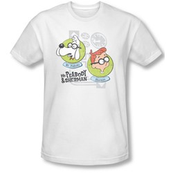 Mr Peabody & Sherman - Mens Gadgets Slim Fit T-Shirt