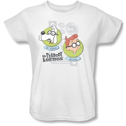 Mr Peabody & Sherman - Womens Gadgets T-Shirt