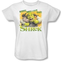 Shrek - Womens Ogres Need Love T-Shirt