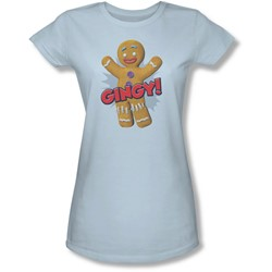 Shrek - Juniors Gingy Sheer T-Shirt