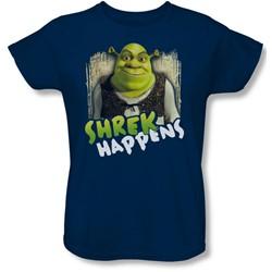 Shrek - Womens Happens T-Shirt