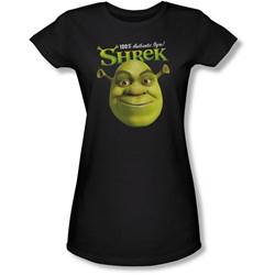 Shrek - Juniors Authentic Sheer T-Shirt