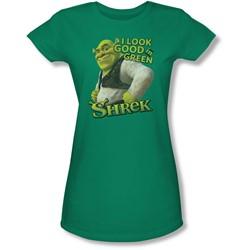 Shrek - Juniors Looking Good Sheer T-Shirt