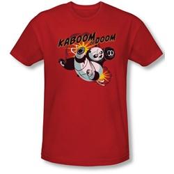 Kung Fu Panda - Mens Kaboom Of Doom Slim Fit T-Shirt