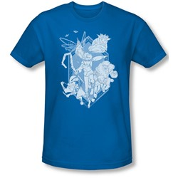 Rise Of The Guardians - Mens Coming For You Slim Fit T-Shirt