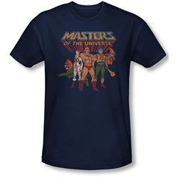 Masters Of The Universe - Mens Team Of Heroes Slim Fit T-Shirt