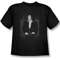 Elvis - Just Cool Big Boys T-Shirt In Black